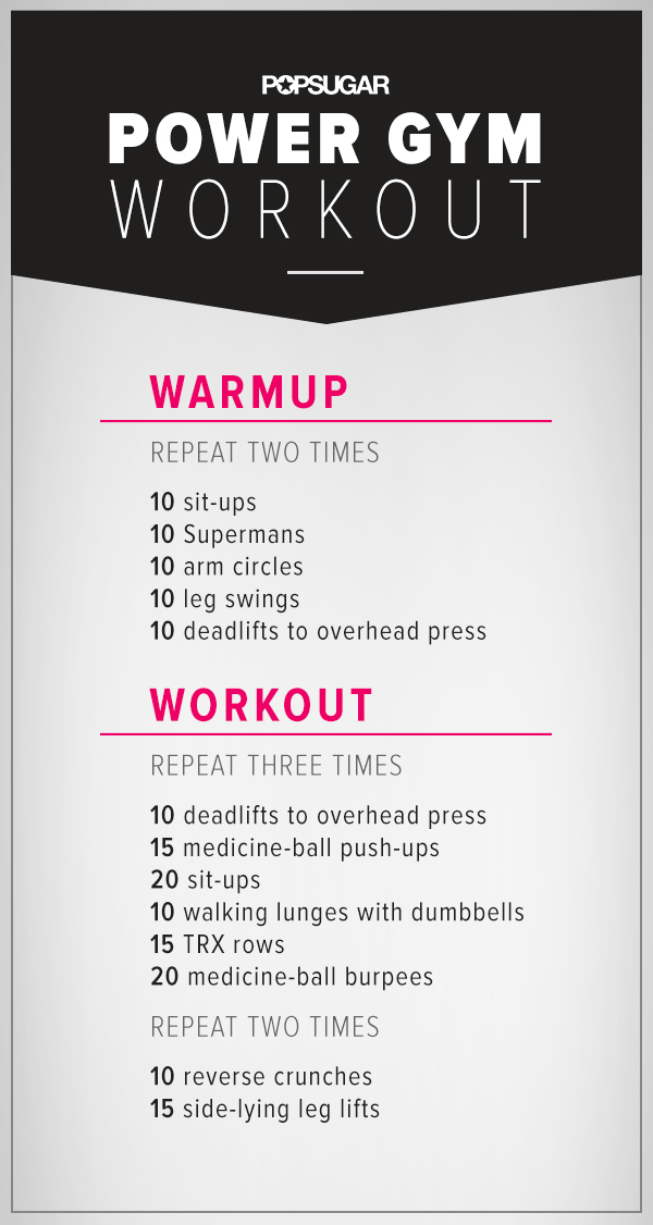 It is a photo of Eloquent Printable Gym Workouts