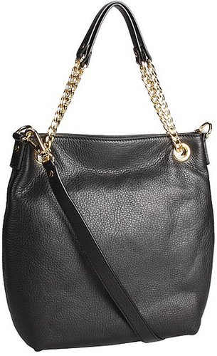 MICHAEL Michael Kors - Jet Set Medium Chain Shoulder Tote (Black) - Bags and Luggage