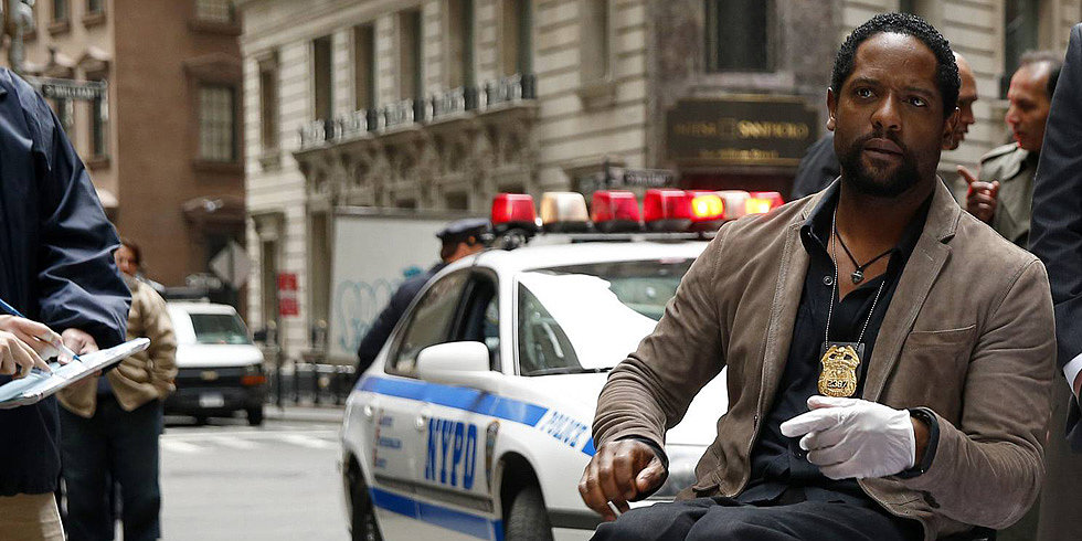 Blair Underwood Doesn't Shy Away From Sexy Time in Ironside