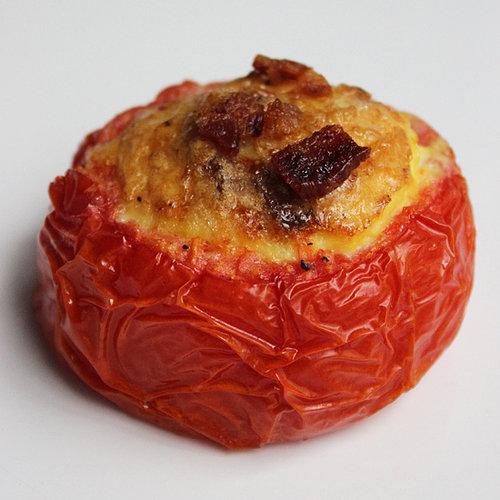 Recipe For Paleo Breakfast: Bacon-Tomato Frittatas | POPSUGAR Fitness ...