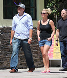 Ooh La La: Britney Spears Has a Lunch Date With David Lucado
