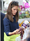 Jennifer Garner Catches Royal Baby Fever