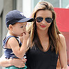 Miranda Kerr and Flynn Bloom at the Toy Store | Photos
