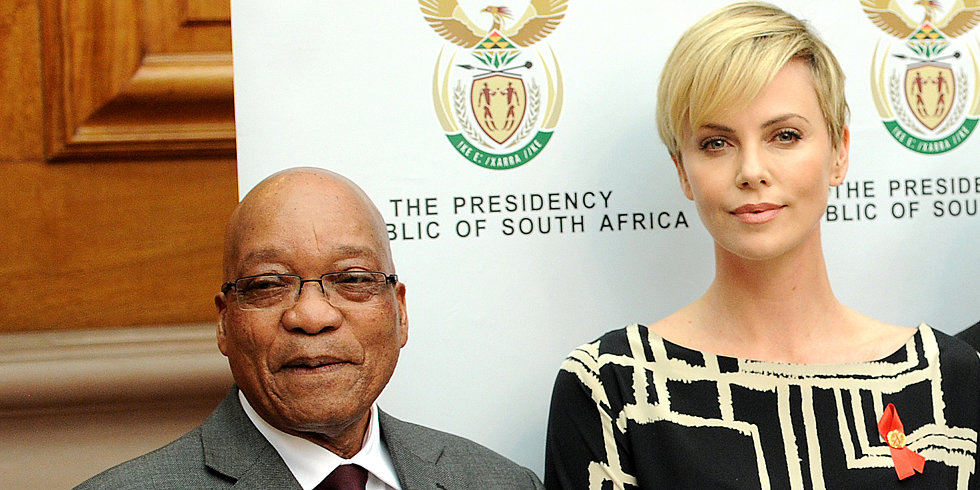 Charlize Theron Heads Home For a Cause