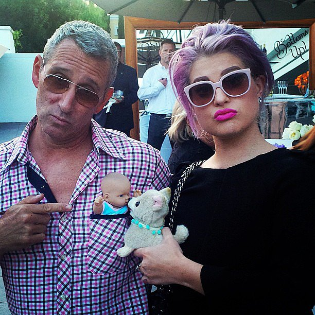 "Adam Shankman and Kelly Osbourne joked about being the ""best parents ever."" Source: Instagram user adamshankman"