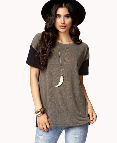 FOREVER 21 Low-Key Contrast Tee
