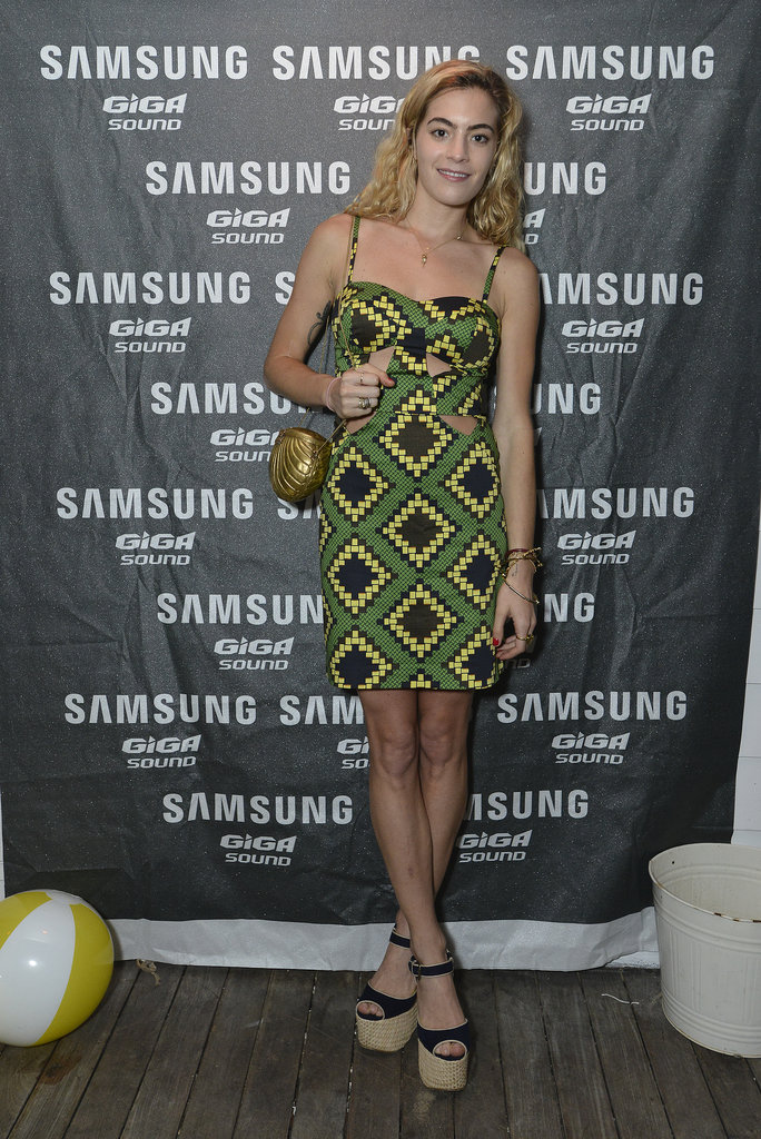 In Montauk, Chelsea Leyland kept the crowd on their feet at Samsung's Summer DJ series.