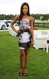 Naomie Harris was print perfect in Mary Katrantzou for the Audi International Polo match.