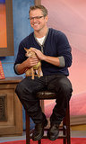 Matt Damon with a puppy — need we say more?