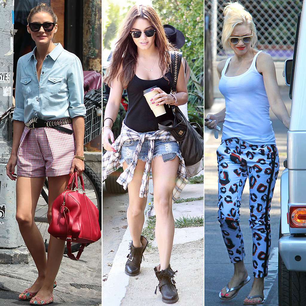 Olivia, Vanessa, Gwen, and More Celebs to Inspire Your Casual Summer Style