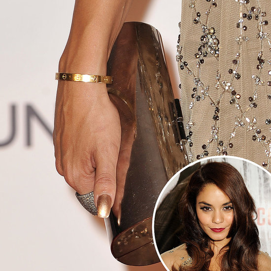 Celebrity Nail Art & Manicures: Vanessa Hudgens & More ... Vanessa Hudgens Nails