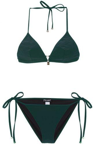 Dolce & Gabbana triangle bikini