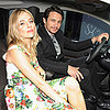 Sienna Miller and James Franco at BMW Event in London