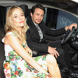James Franco and Sienna Miller at BMW Event in London