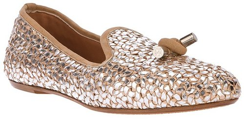 Guillaume Hinfray metallic shoe
