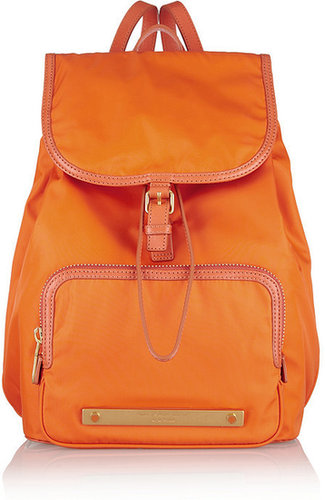 Marc by Marc Jacobs Work It Baby Got Backpack leather-trimmed backpack