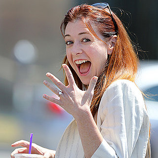 Alyson Hannigan Shows Off Her New Diamond Ring | Pictures