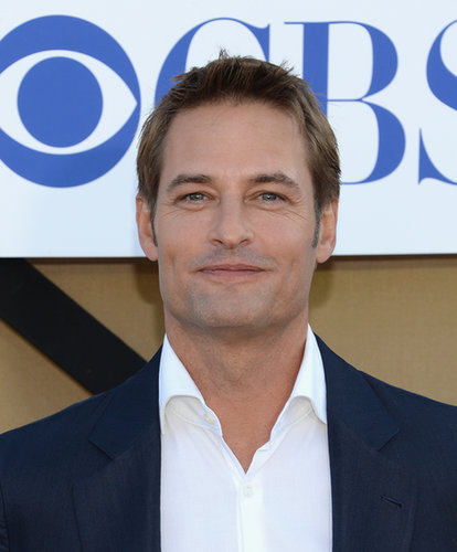 Josh Holloway was a guest at the party hosted by The CW, CBS, and Showtime.