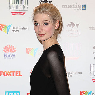 Elizabeth Debicki's Makeup at the 2013 Helpmann Awards
