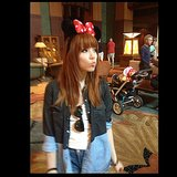 Carly Rae Jepsen spent the day at Disneyland. Source: Instagram user carlyraejepsen