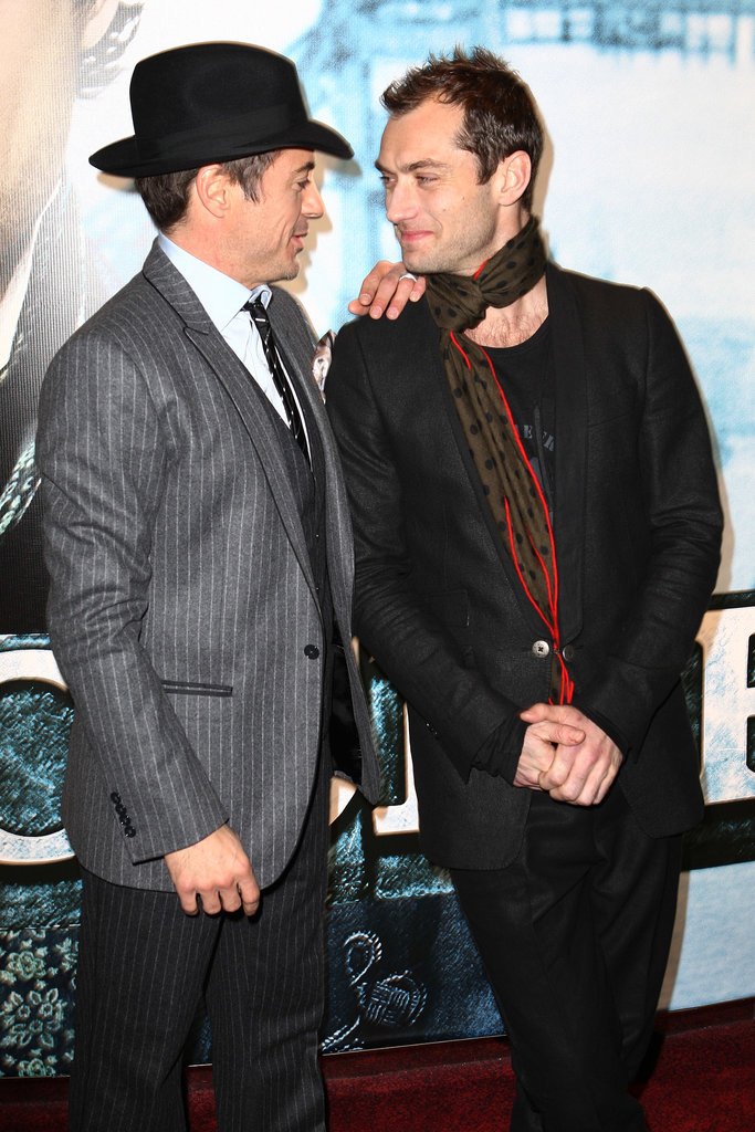 "While Robert Downey Jr. was at Comic-Con in 2009, Rachel McAdams suggested the real love story in Sherlock Holmes was between Robert and costar Jude Law. Robert retorted with a hilarious response:  ""It's called circumstantial homosexuality."""