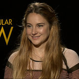 Shailene Woodley and Miles Teller Interview (Video)