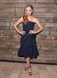 Amanda Seyfried hit the afterparty for Lovelace in a sculpted Givenchy design.