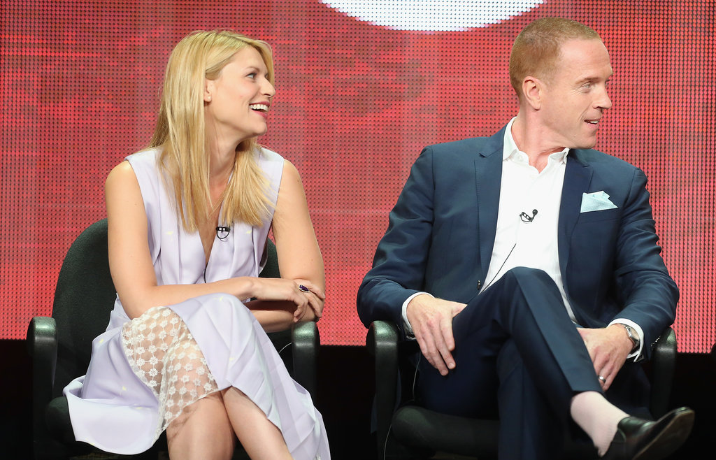 Claire Danes wore a Thakoon dress for her Homeland panel at the Summer TCAs with Damian Lewis.