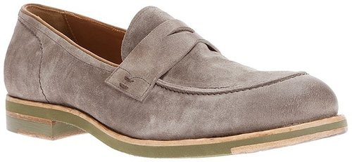 Pantanetti suede loafer