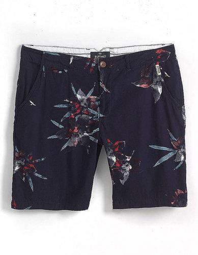 BUFFALO DAVID BITTON Hoban Printed Cotton Shorts