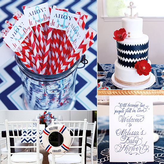 Ahoy, It's a Boy! A Nautical Baby Shower