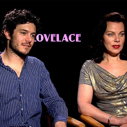 Adam Brody and Debi Mazar Lovelace Interview