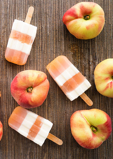 Peaches and Cream Pops