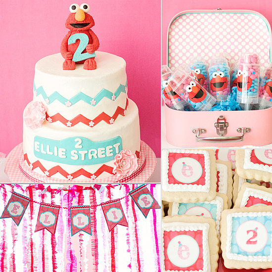 A Girlie Elmo-Inspired Birthday Party