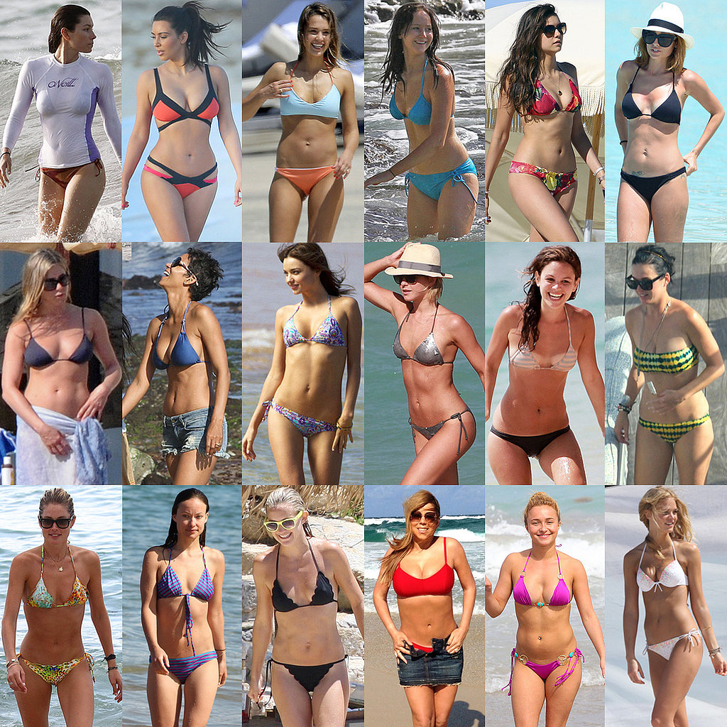 See Where Your Favorite Star Ranked in Our 2013 Bikini Bracket!
