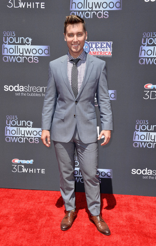 Lance Bass attended the Young Hollywood Awards in Santa Monica.
