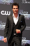 The Vampire Diaries star Ian Somerhalder presented at the Young Hollywood Awards.