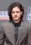 Game of Thrones star Kit Harington smoldered on the red carpet at the Young Hollywood Awards.