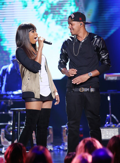 Jennifer Hudson performed with J. Cole at the Do Something Awards.