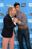 Jesse Tyler Ferguson and Justin Mikita showed off their wedding rings at the Do Something Awards.