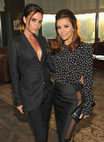 "Victoria Beckham chose her famous gal pal Eva Longoria as godmother to her baby daughter Harper. The former Desperate Housewives star said in an interview that she intends to be a ""great"" influence on the little girl, adding, ""I am a five-time godmother!"""