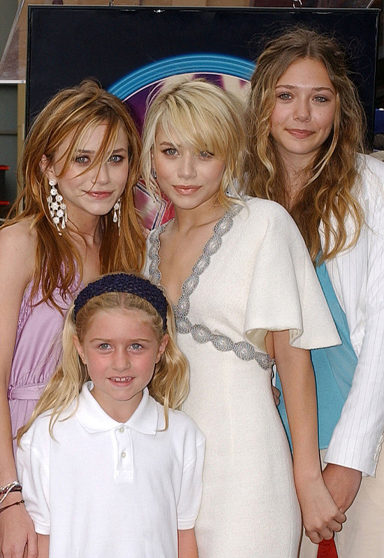 Mary-Kate, Ashley, and Elizabeth Olsen