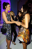 Megan Gale and Jessica Gomes