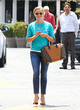 Reese Witherspoon smiled while out in LA.
