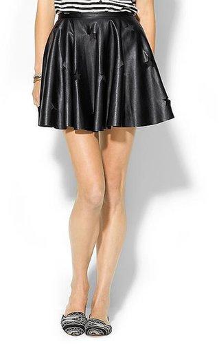 Finders Keepers Love Gun Vegan Leather Skirt