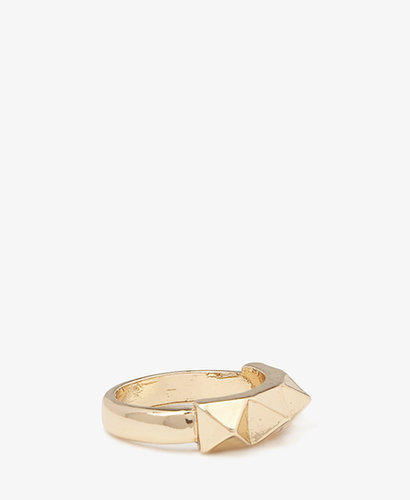 FOREVER 21 Pyramid Stud Ring