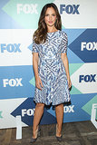 Minka Kelly was among the guests at the Fox All-Star Party.