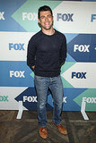 Max Greenfield went to the Fox All-Star Party in LA.