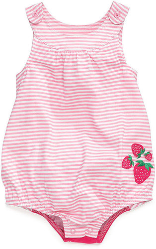 First Impressions Baby Bodysuit, Baby Girls Strawberry Fruit Sunsuit
