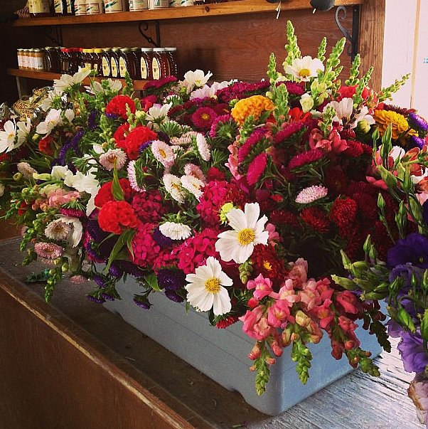 Who doesn't love a box full of farm-fresh flowers?